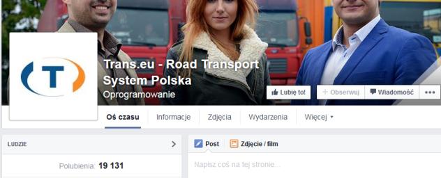 przewoznicy na facebooku