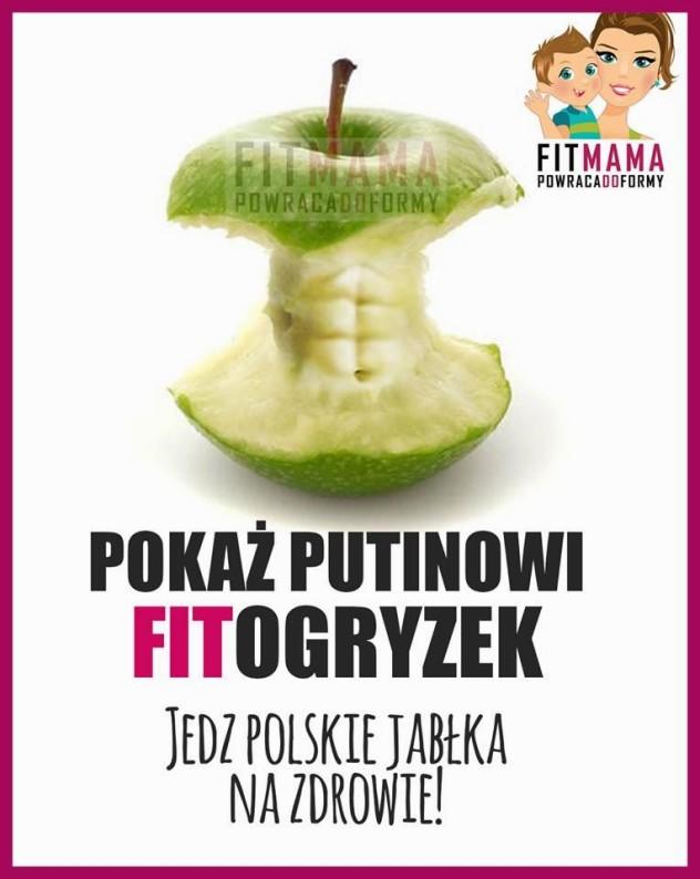embargo na jablka a reklama w internecie