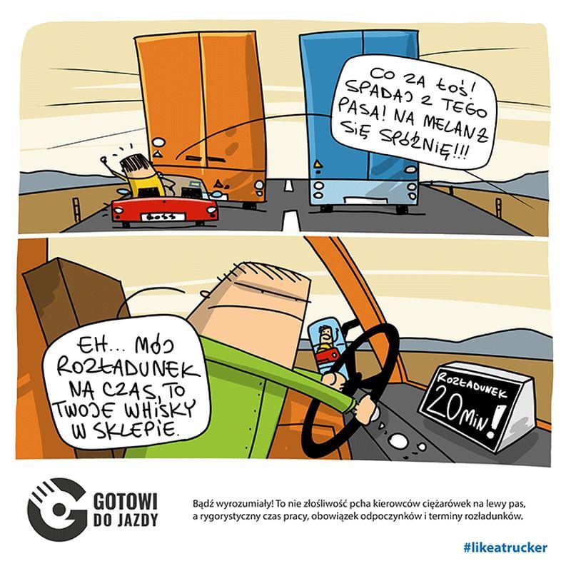 reklama zawodu kierowcy